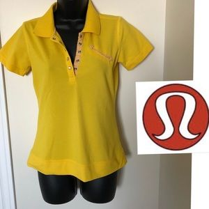 ❤️ Lululemon Golf Polo T-shirt Size 6 ❤️